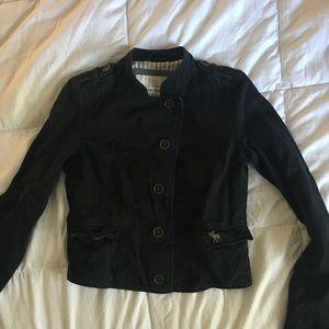 Abercrombie & Fitch Navy Blazer Jacket